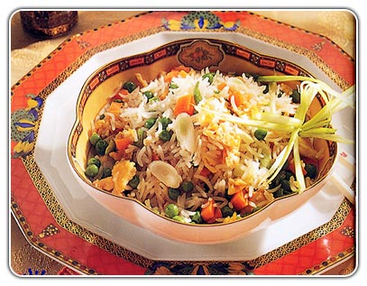 """Rice With Vegetables"" Fried Rice"