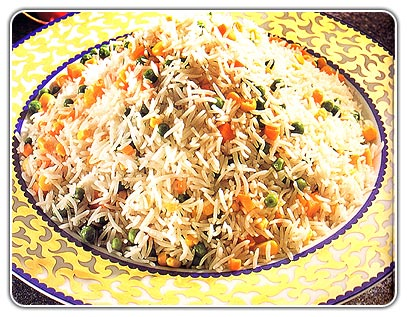 """Rice With Vegetables"" Pilaf"